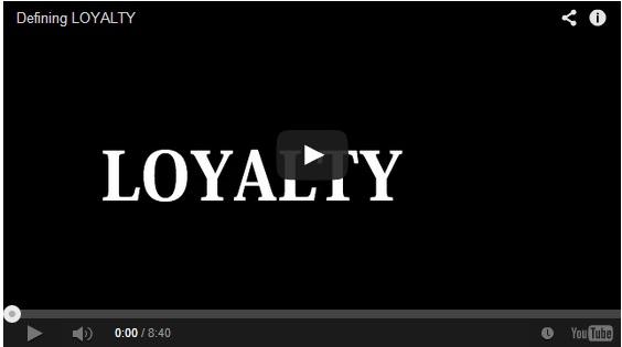 Defining Loyalty